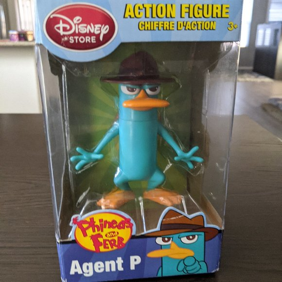Disney Perry the Platypus Phineas and Ferb Funko